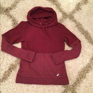 Asics cowl neck hoodie